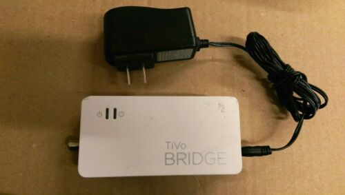 Actiontec/TiVo Bridge Plus ECB6000 Ethernet to Coax Adapter W/ Power Cord -Used-