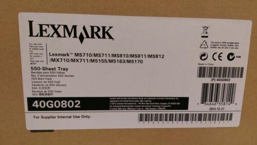 Lexmark 550 Sheet Tray -New in Original Box-Lexmark 40G0802