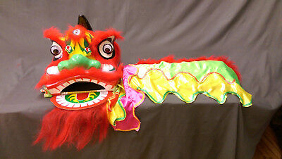 Chinese Lion Dance Costume for two children](Lion Kids Costume)