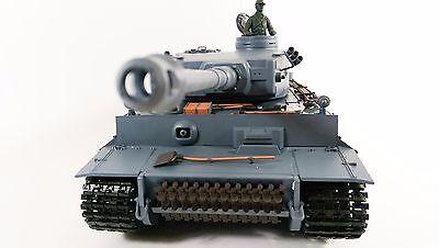 Heng Long 1:16 German Tiger 1 Tank With SMOKE And SOUND Radio Control RC Tank