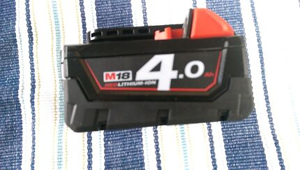 Milwaukee 4.0 18 v battery brand new  Liverpool Liverpool Area Preview