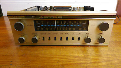 Altec 708A ASTRO Tube-Solid State Stereo Receiver (Preamp+Amp+Tuner) - VERY RARE