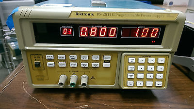 Tektronix Ps2511g Gpib Ieee-488 Programmable Precision 7a Dc Power Supply