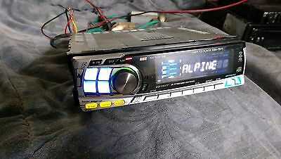 CDA-7977 ALPINE cd player  4vpreout  BBE alpine cda-7977