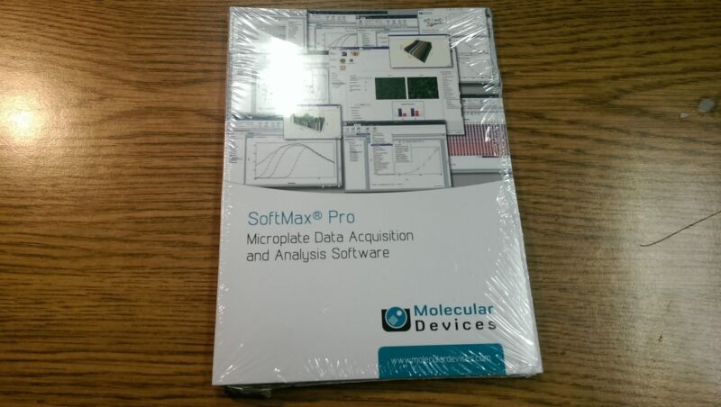 Molecular Devices SoftMax Pro 6.3 Microplate Data Acquisition Analysis Software