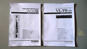 yamaha service repair manual of the yamaha vl70m VL70 m & wx5 breath controller - Italia - yamaha service repair manual of the yamaha vl70m VL70 m & wx5 breath controller - Italia