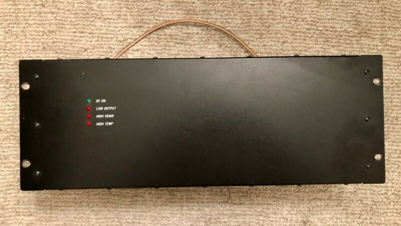 crescend uhf amplifier. 450-470 MHZ. Model# P10-2HA1-C5-002