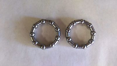 """A PAIR OF AMERICAN BALL BEARING RETAINER 5/16"""" x 9 BALL FOR BICYCLES #66"""