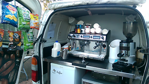 Coffee van available for all events Oxley Brisbane South West Preview
