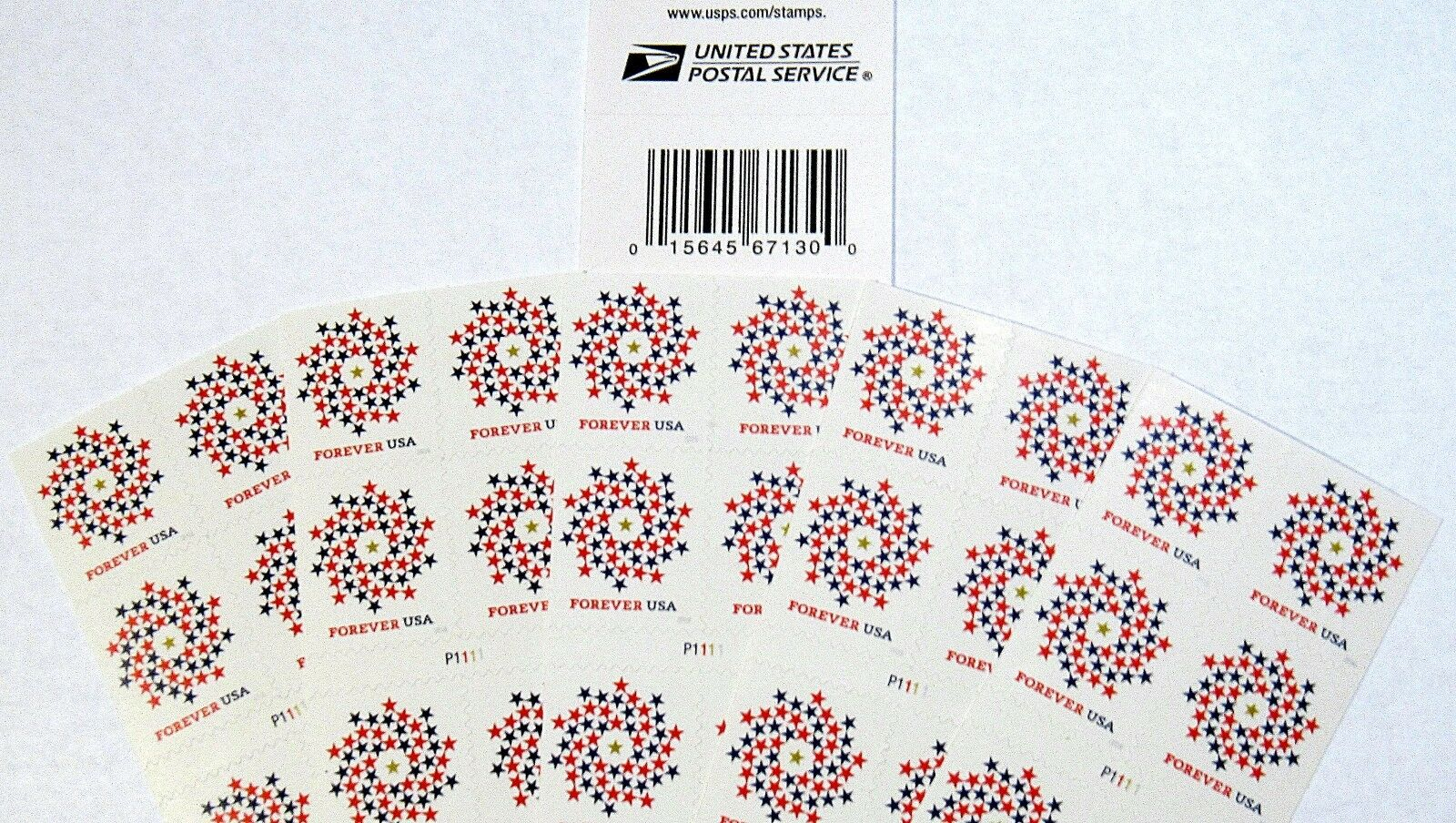 Купить 250 Forever Stamps First Class Postage USPS Patriotic Spiral MINT $125 Value