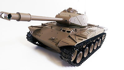 Radio Control 2.4Gz US RC 1:16 Heng Long Walker Bulldog Smoking Army R/C Tank