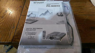 SHARP PG-M20XU OPERATION MANUAL AND ELECTRONIC MANUAL/TECHNICAL REFERENCE CD Sharp Electronics Cd