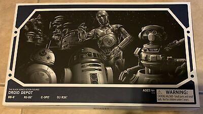 Star Wars Seal (Star Wars Galaxy's Edge Black Series Droid Depot 4 Figure Set 6