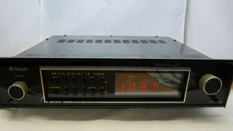 McIntosh MR 510 Digital Tuner
