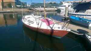 Red witch 20ft sail boat. Brisbane City Brisbane North West Preview