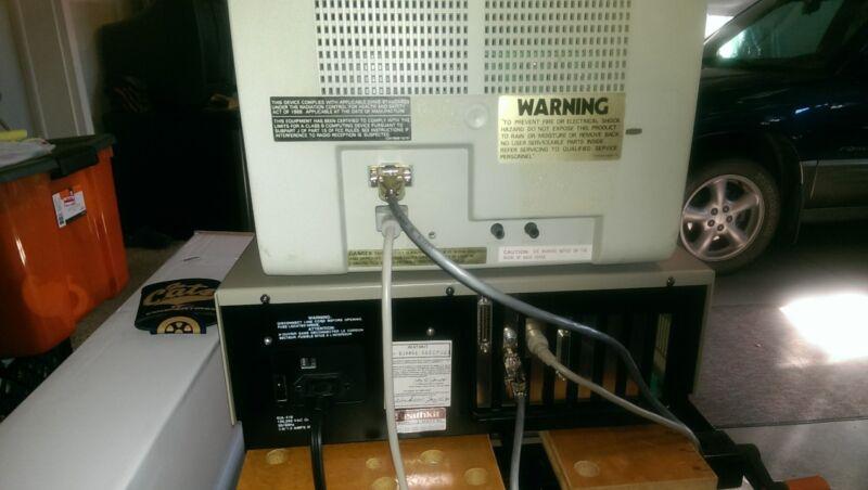 Vintage Heath/Zenith computer system, all working.