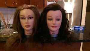 Hairdresser training mannequin heads Melbourne CBD Melbourne City Preview