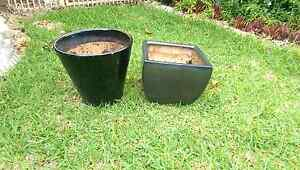 Two black pots great condition both ceramic Nudgee Brisbane North East Preview