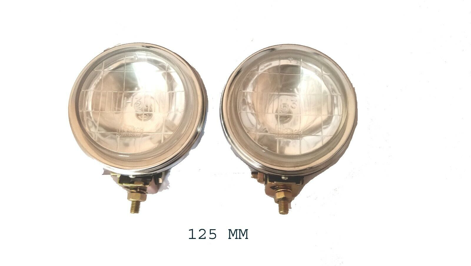 Fog Light Spot Light Hunter Light Pair  125  mm Glass