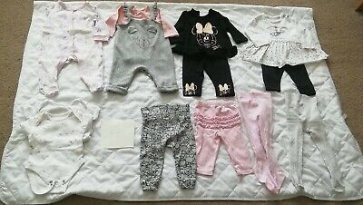 3-6 Month Old Baby Girl Clothes Bundle