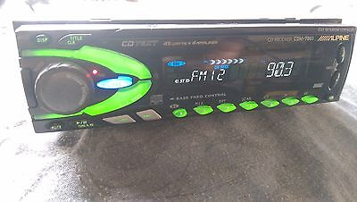 CDM-7861 ALPINE cd player  BBE BASS FREQ  CONTROL alpine cdm-7861