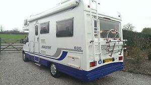 2000 Lunar Roadstar 630 Fiat DUCATO 2.8 TDI LWB - Rear Lounge 2 Singles 4 Berth