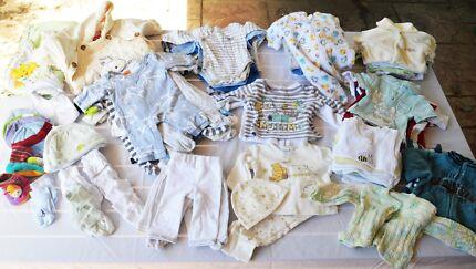Premature Clothes. Excellent Condition. 00000-0000. 85 items Bethania Logan Area Preview