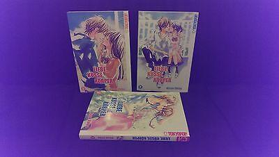 LIEBE, KÜSSE, KÖRPER :  Deutsche Mangas Nr. 1, 2 und 3  komplett & Top !