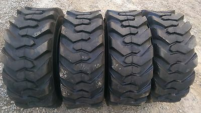 4 New Skid Steer Tires 14x17.5 - 14 Ply Rating - 14-17.5 - Backhoe Tires
