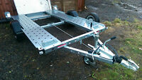 Smart Tow car trailer motorhome tow car smart car trailer hardly used