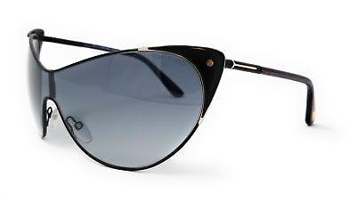 f9258920dfc78 Tom Ford Sunglasses FT0364 01B Shiny Black   Gradient Smoke Womens 00X00X120