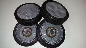Honda Push & Drive SP Wheels TIRES Lawnmower Lawn Mower  NEW GRAY  B00 / 000
