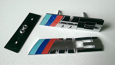 BMW M3 BADGE SET FRONT GRILLE & REAR BADGES M SPORT M3 E36 E46 E90 F80