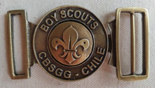 CBSGG SCOUT BELT BUCKLE FROM CHILE 🇨🇱