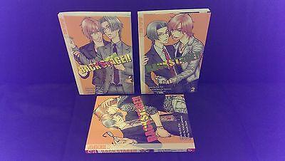 BACKSTAGE : Deutsche Manga-Novels Nr. 1, 2 und 3 komplett & Neu !