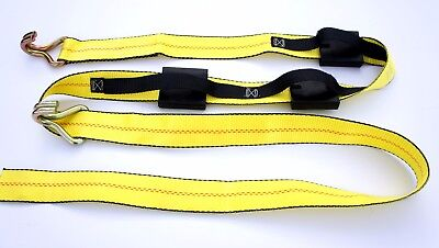 1 Over The Tire Car Hauler Truck Trailer Auto Tie Down Replacement Strap Only WH