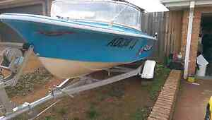 For sale. 4.2 metre fibreglass boat. Reduced price. Need gone. Gungahlin Gungahlin Area Preview