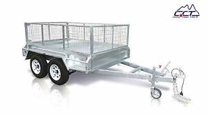 8×5 FULL WELDED HOT DIPPED GAL TANDEM BOX TRAILER Rocklea Brisbane South West Preview