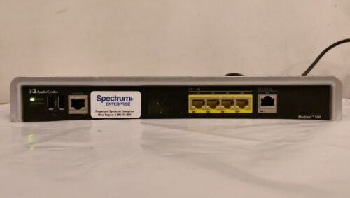 Audiocodes Mediant 500 Media Gateway Device w/Power Cord -Used-