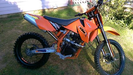 250cc trail bike new engine with warranty St Marys Penrith Area Preview