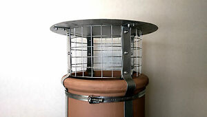 Four Strap Stainless Steel Chimney Cowl