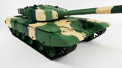 HUGE UPGRADED 2.4G SMOKE SOUND BB FIRING ZTZ TYPE 99 HENG LONG ARMY BATTLE TANK