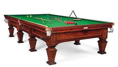 Inlaid Antique Snooker/Billiard Table of huge historical significance Joe Davis!