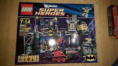 New LEGO DC Universe Super Heroes The Batcave 6860