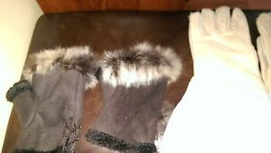 NEVER WORN WOMENS LEATHER GLOVES