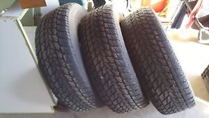 3 Pneu d hiver toyo open country 265/70r18