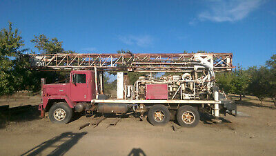 Ingersol Rand Ro 300 Water Well Drill Rig