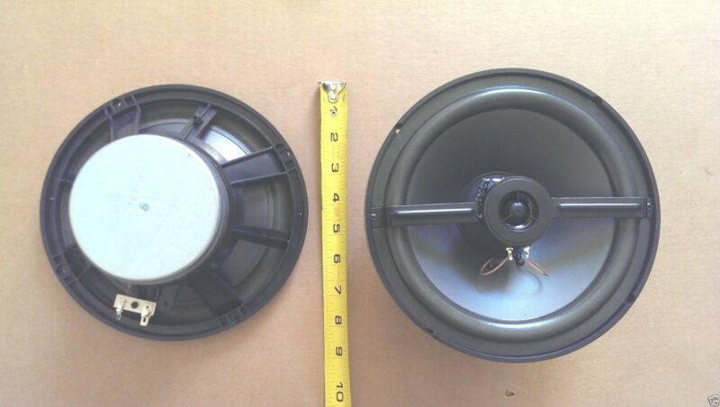 "NEW 2-way 8"" 100-Watt Speaker Woofer w/ 1"" Mylar tweeter (PAIR)"