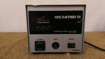 Hakko 472d Desoldering Iron Missing 817 Gun Tool -used-