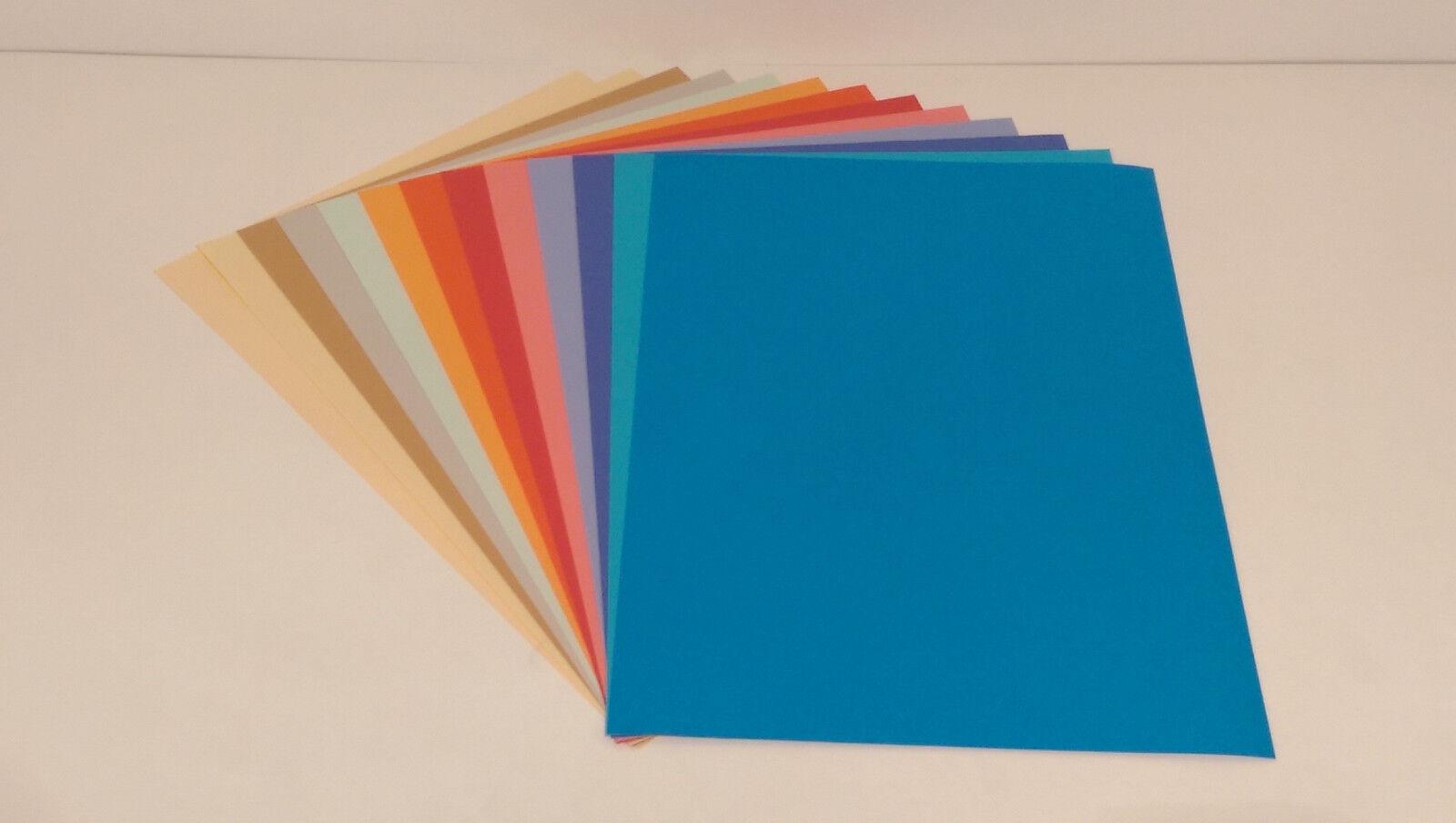 Kopierpapier Druckerpapier Papier Bastelpapier 500 Blatt 80g DIN A4 Bunt Farbig